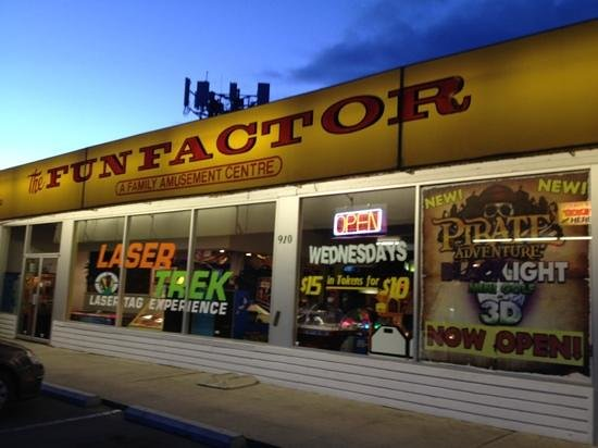 The Fun Factor Family Fun Centre - Pirates Mini Golf & Laser Tag: Fun Factor