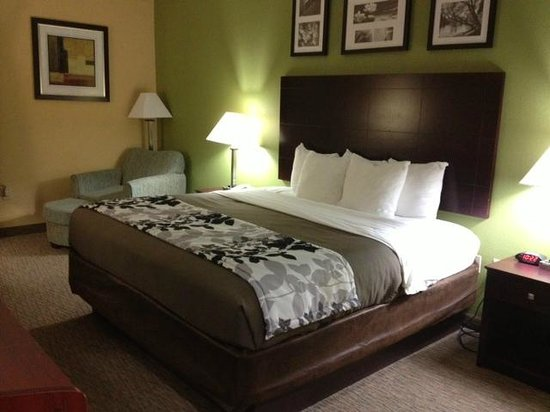 Sleep Inn & Suites : bedroom