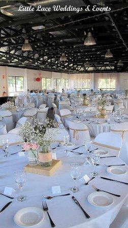 The Bearded Dragon Boutique Hotel: Bluegum Country Ballroom Wedding Reception