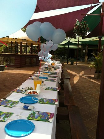 The Bearded Dragon Boutique Hotel: Kids Birthday Parties!