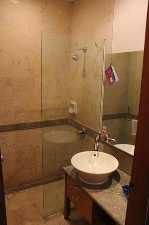 Serela Riau Bandung: Toilet