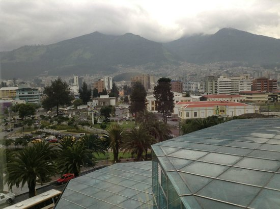 JW Marriott Hotel Quito: view from our room
