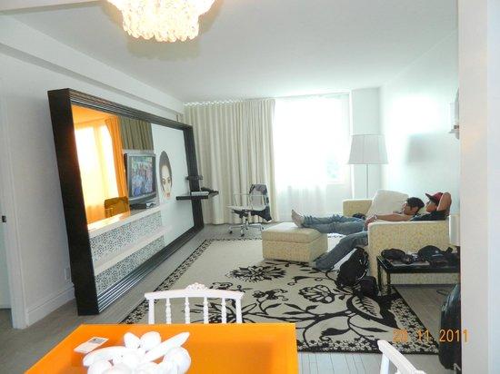 Living room south beach
