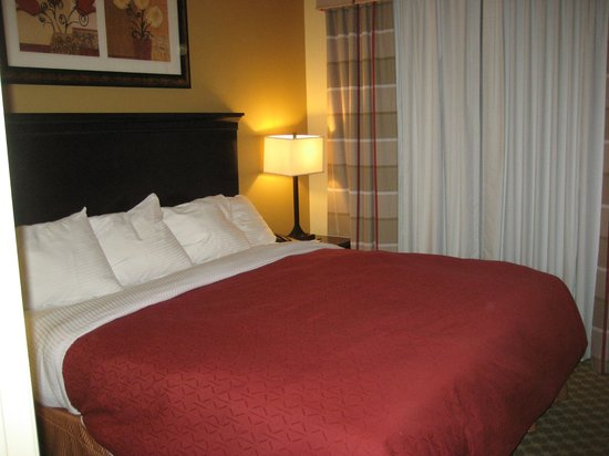 Country Inn & Suites By Carlson, Tampa Airport North: Bedroom with Comfy King Bed