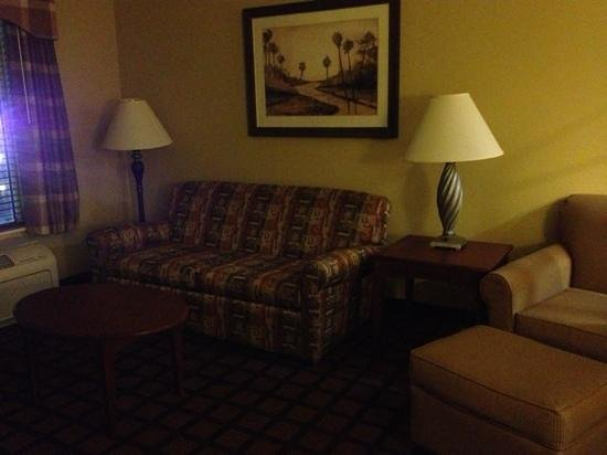 Hampton Inn and Suites Lake City : seating area