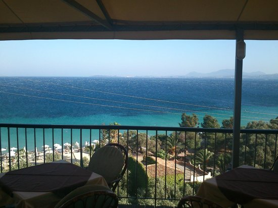 Dionysos: Sea view from our balcony