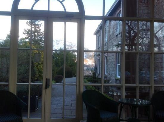 Macdonald Leeming House, Ullswater: from the consevatory