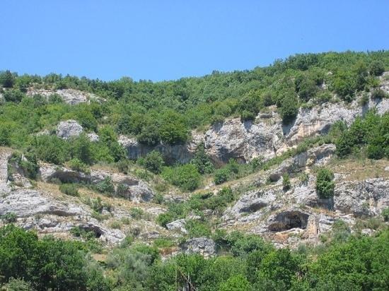 Cittaducale, Italien: il vecchio paese di Grotti