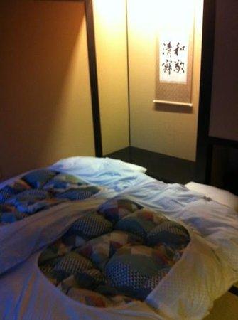Kyomachiya Ryokan Sakura Honganji: the Japanese style room