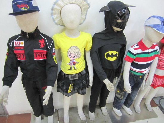 168 Shopping Mall: The latest fashion for children