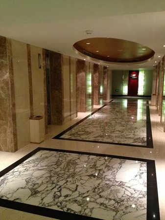 Pullman Shanghai Skyway Hotel: elevators