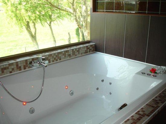 Hotel De Stokerij: bathroom  jacuzzi