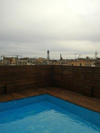 Catalonia Avinyo: Piscine rooftop