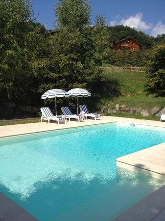 Hôtel Les Roches & Spa: piscine chauffée