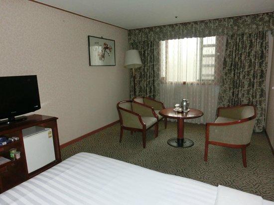 Hamilton Hotel Seoul: デラックスツイン