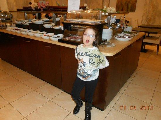 cucina da sogno - Picture of Hotel Regina Elena 57, Rimini ...
