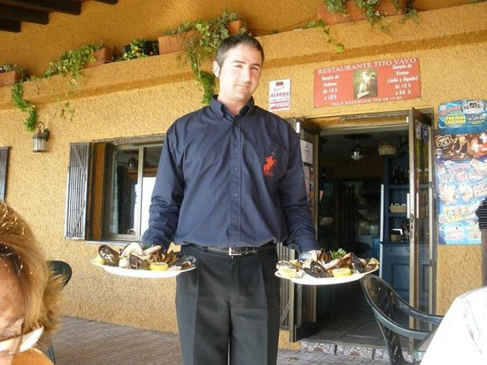 Restaurante Titoyayo: le patron et ses parrilladas