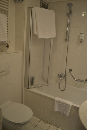 Hotel Stefanie: Bañera