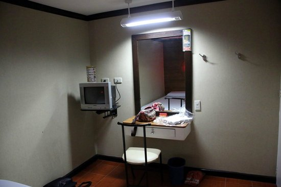 "Hotel Sogo: ""Desk"" and TV"