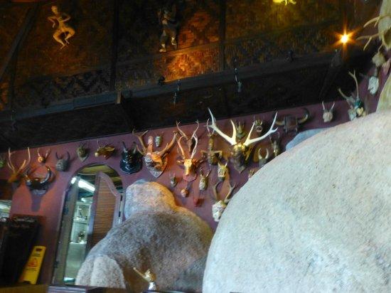 Jamahkiri Resort & Spa: salle à manger