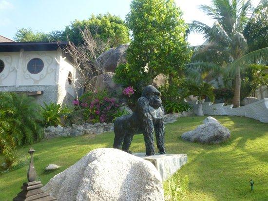 Jamahkiri Resort & Spa: jardin