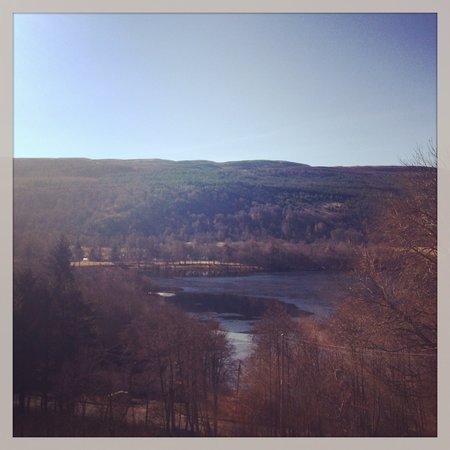 Glenurquhart House Hotel: View from room