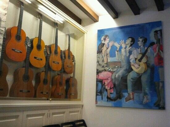 José Luis Postigo, the owner on the guitar - Picture of ...