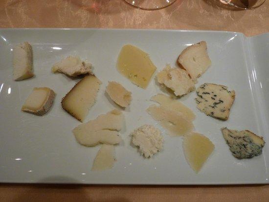 La Pergola: Fromages italiens