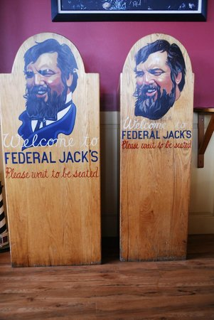 Federal Jacks Restaurant and Brewpub: Welcome to you