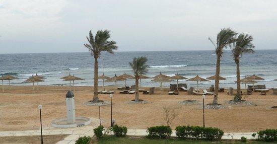 Sea Sun Hotel Dahab: en blåsig dag