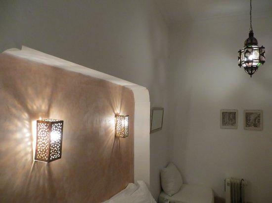 Riad Ariha: chambre rez de chaussée