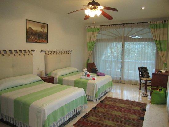 Hotel Okaan Restaurant: unser Zimmer