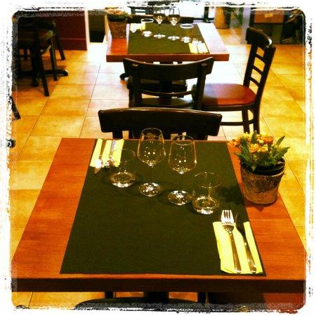 L'Affineur' Affiné : table du restaurant