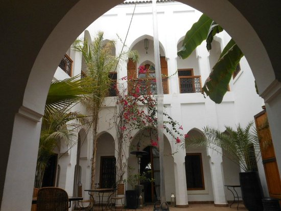 Riad Miski: intérieur du riad