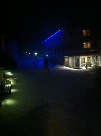 Hotel Winterberg: winterberghotel by night