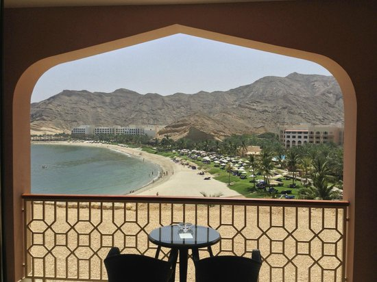 Shangri La Barr Al Jissah Resort & Spa-Al Husn: view from room