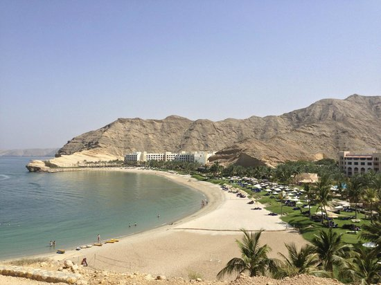 Shangri La Barr Al Jissah Resort & Spa-Al Husn: the view!