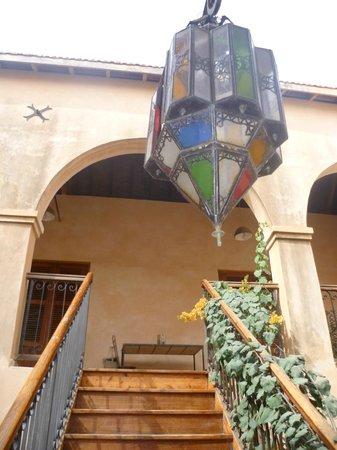 Jamm: L'escalier vers la galerie
