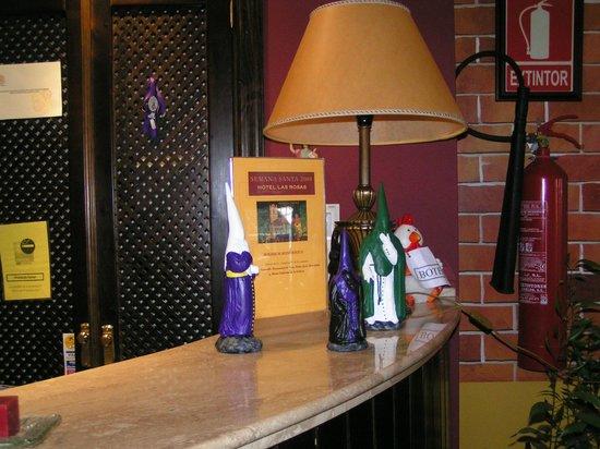 Hotel Las Rosas: Recepcion