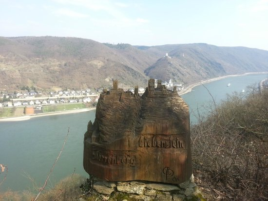 Boppard Hotel Ohm Patt: View of the Rhine