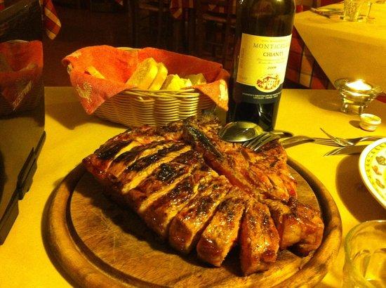 Osteria di Casa Chianti : Fiorentina 1,6 kg