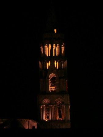 La Maison de Compostelle : vue sur le clocher