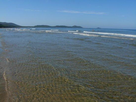 Camping Baia Verde: Acqua cristallina