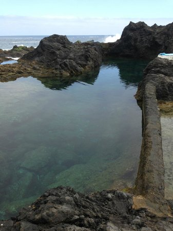 Hotel San Roque : Lava pools in Garachico, great place to take a dip (but be careful) - 10 mins from the hotel