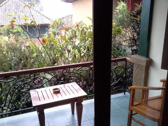Strawberry Hill Hotel: Room balcony