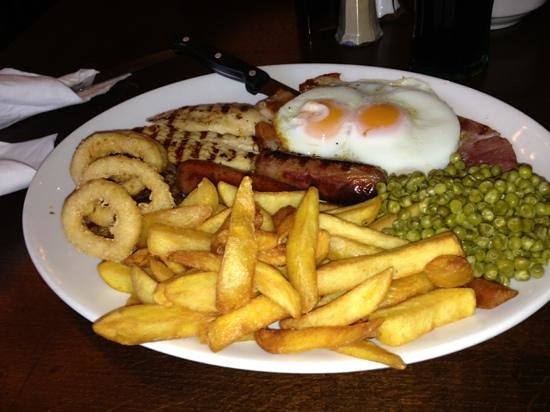 The Railway: mixed grill