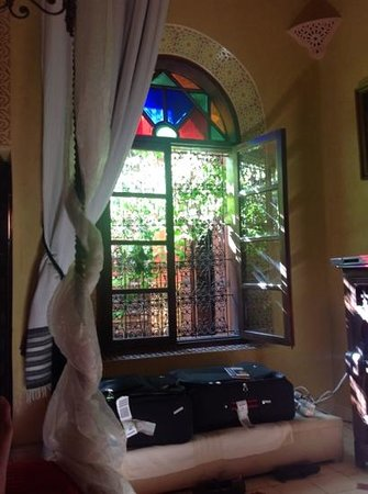 Riad Reves D'orient: from inside our room...