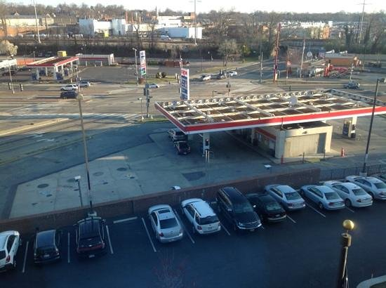 Holiday Inn Express Hotel & Suites Washington DC-Northeast : blick aus dem Fenster