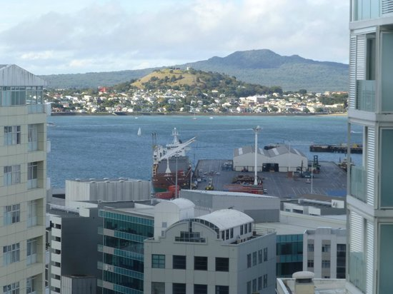 Pullman Auckland: View from our room
