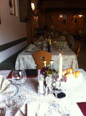 Hotel La Stua: sala Ristorante